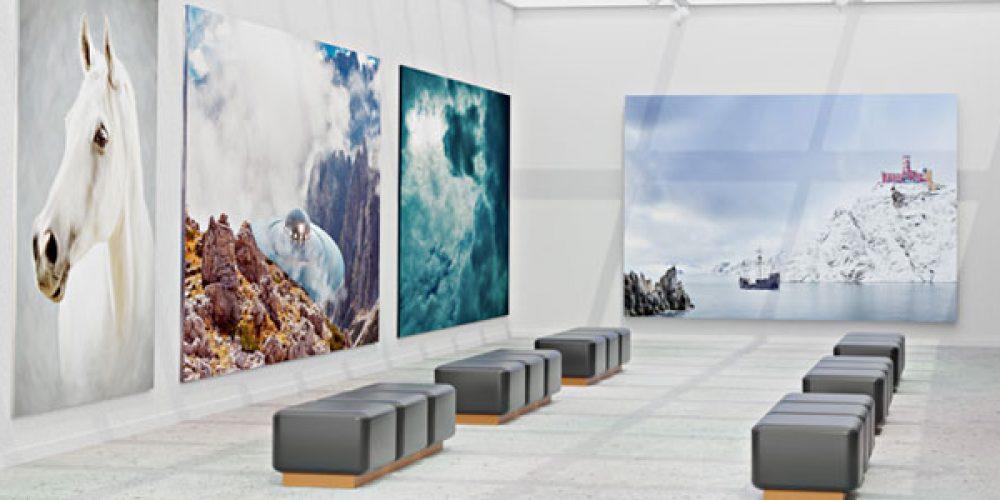 Parcourir les galeries en ligne pour acheter des œuvres d'art contemporain